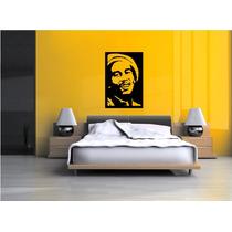 Adesivo De Parede Música Bob Marley Reggae Sala Quarto