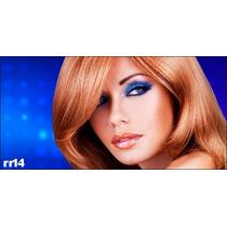 Adesivo Salão De Beleza Cabeleireira Makeup Cabelo Rr14