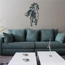Adesivo Decorativo Cavalo Correndo - Tamanho Pequeno