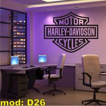 Adesivo Personalizado 2metros X 1,16m - D26 Harley Davidson