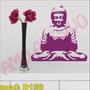 Adesivo Mod D158 Buda Monge China Meditação