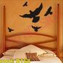 Adesivo Mod D168 Pássaros Voando Aves Asas Céu