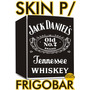Kit Adesivo Skin Frigobar Mini Bar Jack Daniels/coca/cerveja