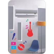 Adesivo Decorativo De Parede - Tema - Musical - Colorido