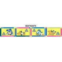 Adesivo Bdfx0075 Turma Mickey Baby Border Faixa Decorativa