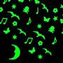 150 Adesivos Fosforecentes Brilham No Escuro + Frete Grátis