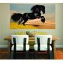 Adesivo Decoração Parede Sala Imagem Cavalo Cowboy Aras
