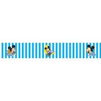 Adesivo Bdfx9011 Mickey Mouse Baby Border Faixa Decorativa