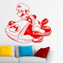 Adesivo De Parede Super Mario Kart - 55x47cm