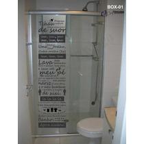 Adesivos Decorativo - Box - Banheiro - Parede - Exclusivos