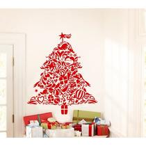 Adesivo Decorativo Árvore De Natal (50x58)cm - Fretegratis