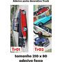 Adesivo 123 Porta Pick Up Chevrolet Boca De Sapo