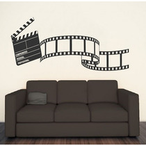 Adesivo Decorativo Vida De Cinema(95x208)cm - Frete Gratis