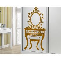 Adesivo Decorativo Penteadeira Provençal(53x105)frete Gratis