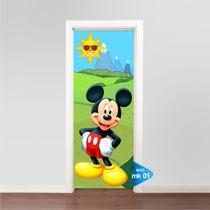Adesivo 123 Porta Mickey Mk01
