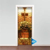 Adesivo 123 Porta Altar Iluminado Igreja Casamento R01