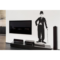 Adesivo Charles Chaplin - Mudo Minha Casa