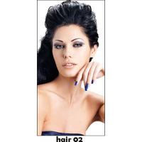 Adesivo De Parede Salão De Beleza Cabeleireiro Makeup Hair02