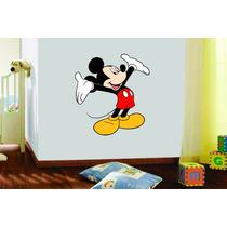Adesivo De Parede Quarto Infantil Criança Mickey Disney
