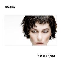 Adesivo Painel Poster Salão Maquiagem Make Up (cod.cab2)