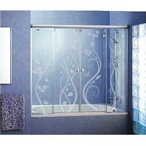 Adesivo De Parede Decorativo Jateado Box Vidro Espelho