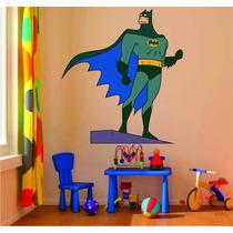 Adesivo Decoração Parede Quarto Infantil Batman Super Herói
