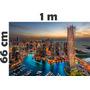 Adesivo Decoração Parede Foto Imagem Paisagem Cidade Dubai