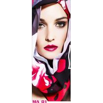 Adesivo 123 Porta Maquiagem Beleza Salao Ma01