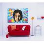 Adesivo De Parede Poster Jhon Lenon The Beatles Rock Música