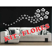 Adesivos Decorativos - Kit De Flores - Stick Home
