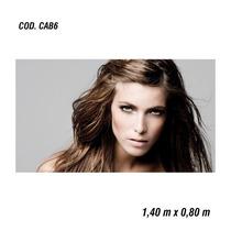 Adesivo Painel Poster Salão Maquiagem Make Up (cod.cab6)