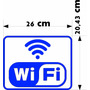 Adesivo Wi Fi De Parede Plotado Frete Grátis Wifi Vinil