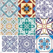 Ladrilho Hidráulico / Português - Adesivo Parede Ou Azulejo