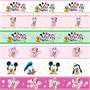 Adesivo Infantil Faixa Border Baby Disney Princesas Carros
