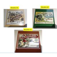 Azulejo Vintage - Cerveja Brahma Produto Histórico Top