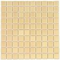 Pastilha De Vidro Bege 30cm X 30cm - Caixa Com 11 Placas