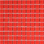 Pastilha De Vidro Vermelho 30cm X 30cm - Caixa Com 11 Placas