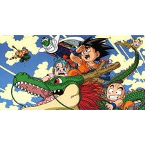 Painel Decorativo Festa Dragon Ball Z Goku [2x1m] (mod5)