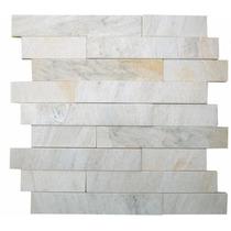 Mosaico Em Pedra Caxambu Branca M004 (são Tomé)