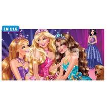 Painel Lona Festa Banner Aniversario Barbie Boneca Ln116