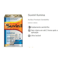 Tinta Suvinil Ilumina Acrilico Premium Semi Brilho 18 Litros