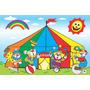 Painel Decorativo Festa Infantil Circo Palhaço (mod3)