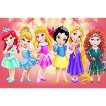 Painel Decorativo Festa Infantil Princesas Baby Kids (mod9)