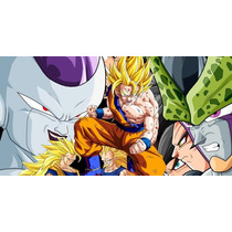 Painel Decorativo Festa Dragon Ball Z Goku [2x1m] (mod6)