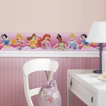 Adesivo Decorativo Reposicionável - Disney Princesas - Drea