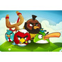 Painel Decorativo Festa Infantil Angry Birds (mod2)