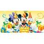 Painel Decorativo Festa Turma Do Mickey [2x1m] (mod1)