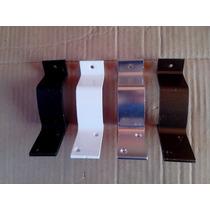 Kit 2 Peças Suporte Para Corrimão De Alumínio Coloridos