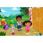 Painel Decorativo Festa Infantil Dora A Aventureira (mod2)