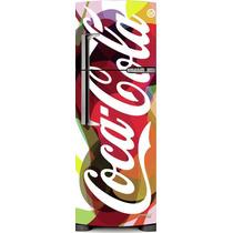 Adesivo Geladeira Coca Cola Colorida # 81 (frigobar)